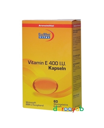 ویتامین E400 یوروویتال