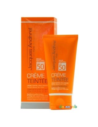 کرم ضد آفتاب رنگی SPF 50 ژاک آندرل