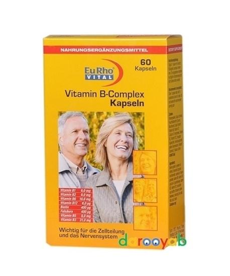ویتامین ب کمپلکس یورو ویتال