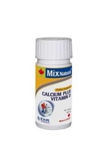 کلسیم+ ویتامین د میکس نچرال
