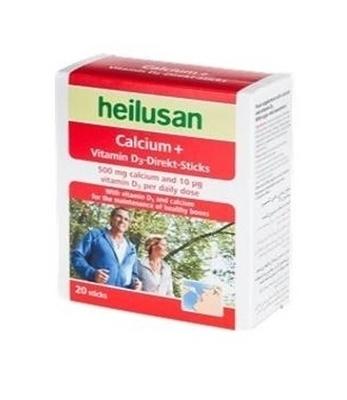 ساشه کلسیم + ویتامین D3 هیلوسان