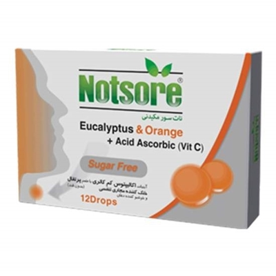 آبنبات اکالیپتوس نات سور با طعم پرتقال