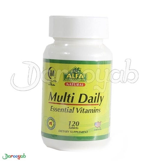 مولتی دیلی آلفا ویتامین