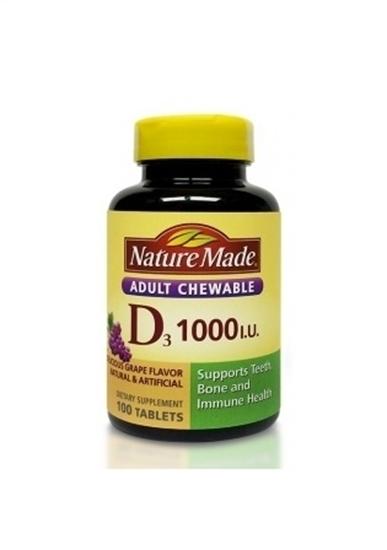 ویتامین D3 1000 واحد نیچرمید