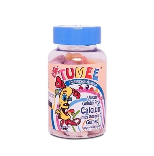 پاستیل کلسیم پلاس ویتامین د مستر تامی