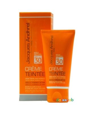 کرم ضد آفتاب رنگی SPF 30 ژاک آندرل
