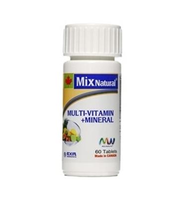 مولتی ویتامین+ مینرال میکس نچرال