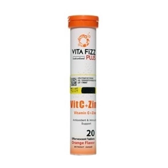 قرص جوشان ویتامین C + زینک ویتافیز پلاس