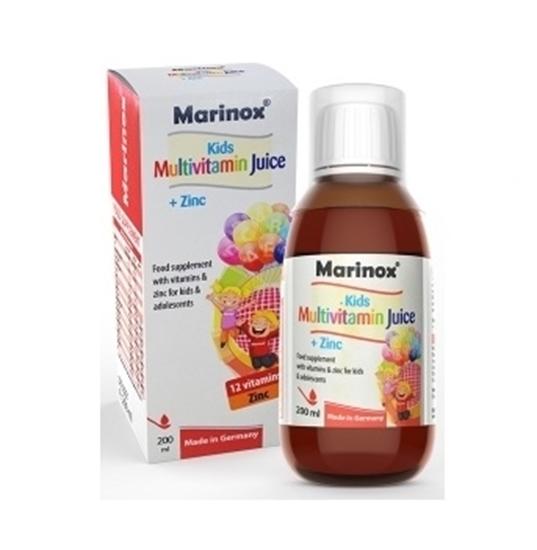 شربت مولتی ویتامین+ زینک کودکان مارینوکس
