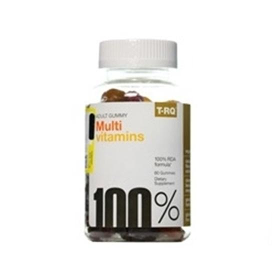 پاستیل مولتی ویتامین بزرگسالان تی آر کیو