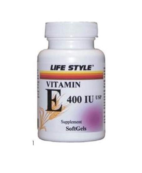 ویتامین E400 لایف استایل