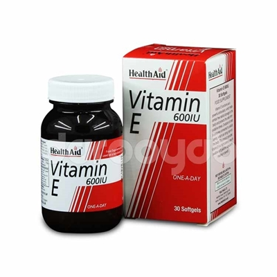 کپسول ویتامین E600 هلث اید