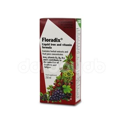 شربت آهن و ویتامین فرمولا فلورادیکس