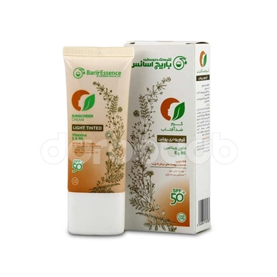 کرم ضد آفتاب کرم پودری SPF+50 (مخصوص پوست های نرمال تا چرب)