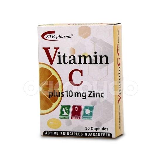 ویتامین سی همراه با زینک اس تی پی فارما
