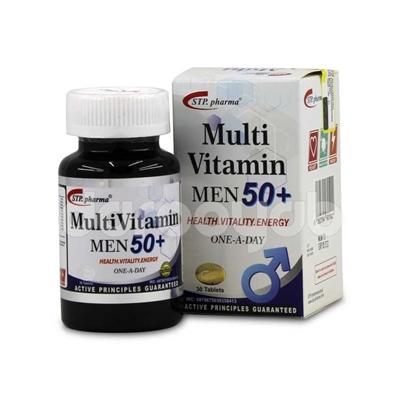 مولتی ویتامین مردان بالای 50 سال